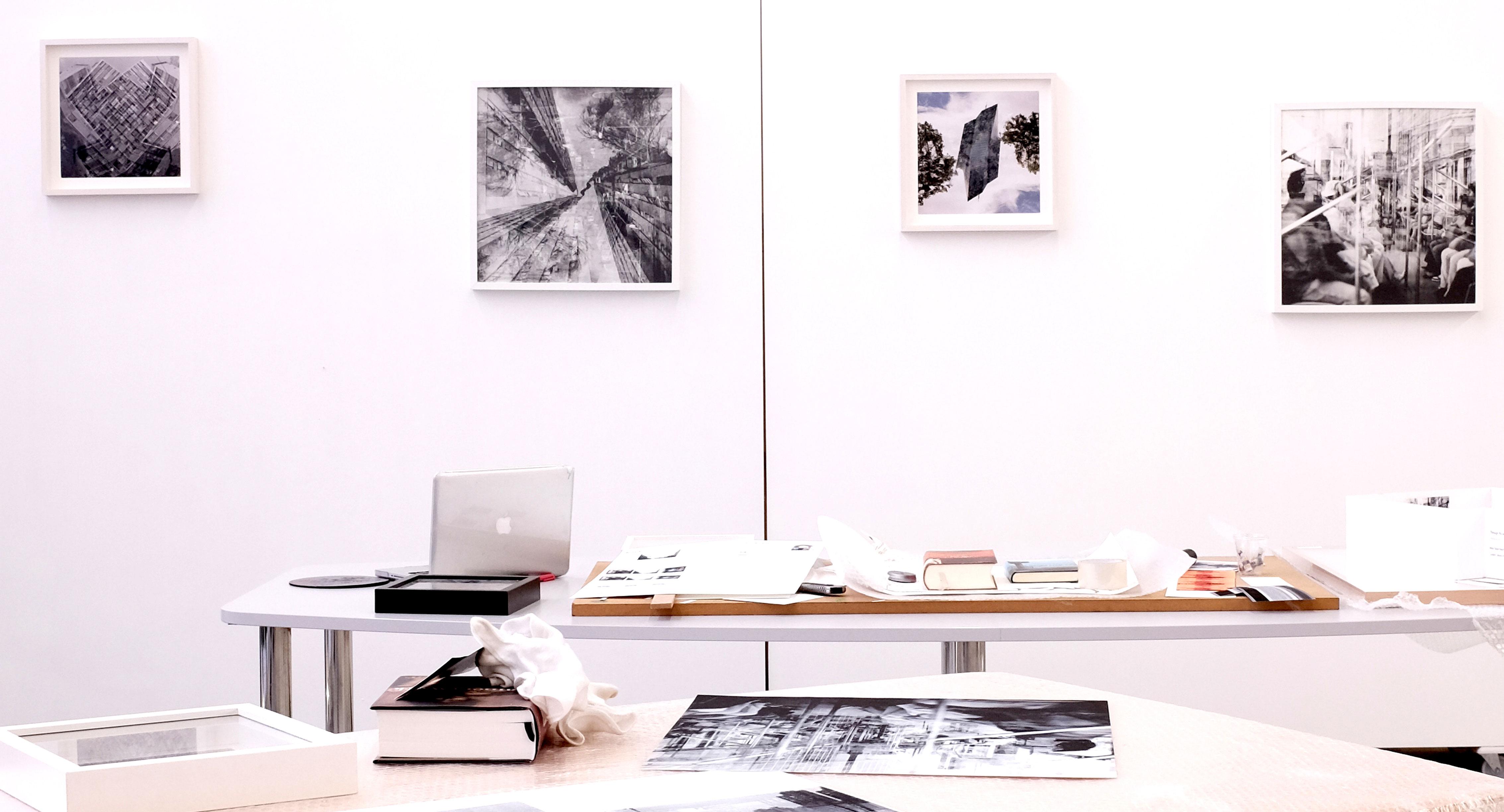 coGalleries Artist Residency Berlin Studio View Robin Resch Fine Art Photography