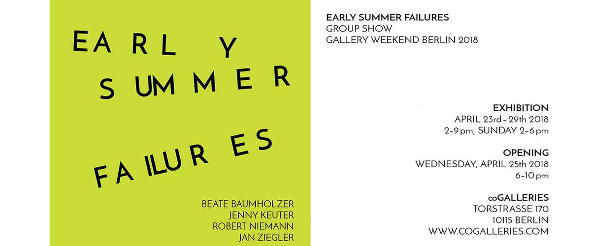 Gallery Weekend Berlin Exhibition